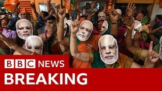 India election results 2019: Narendra Modi takes landslide win - BBC News