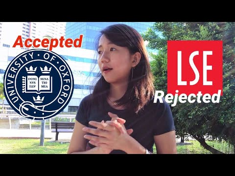 Accepted By Oxford, Rejected By LSE (how To Avoid My Mistakes?)