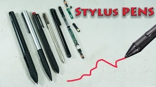 Types, Usage, & Inside of Mobile Phone, Laptop & Tablet Stylus Pens