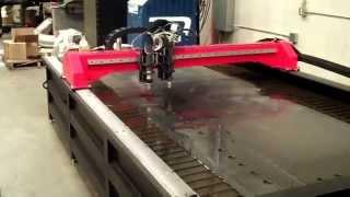 Máy Cắt CNC Plasma Sử Dụng Nguồn Victor Thermal Dynamics UltraCut 300