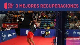 Las 3 Mejores Recuperaciones HERBALIFE del Estrella Damm Menorca Open 2019 | World Padel Tour