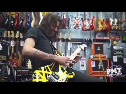 EVH Striped Series Guitars at PMT Newcastle