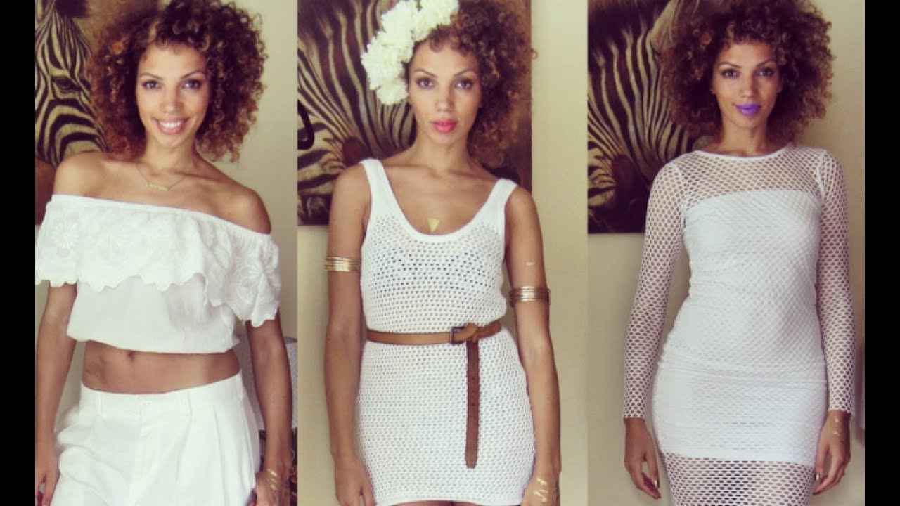 All White Affair Statement Styling For Attire Occasions You