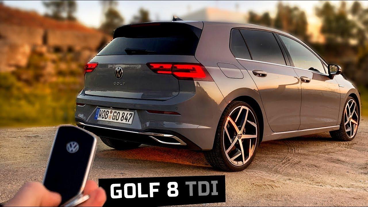 nouvelle golf 8 2020 150 tdi en attendant la gtd youtube