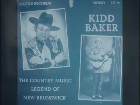 Kidd Baker LP Country Music Legend of New Brunswick Mickey McGivern Fred McKenna