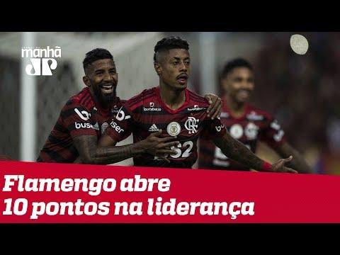 Palmeiras empata, e vê Flamengo abrir 10 pontos na liderança do Brasileirão
