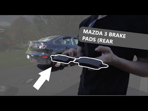 How to Replace Brake Pads on 2013 Mazda 3 DIY