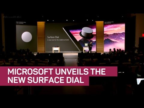 Microsoft Unveils the Surface Dial (CNET News)