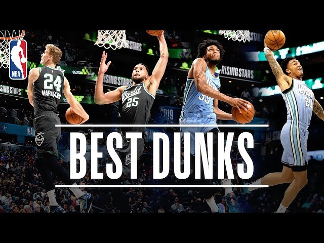 The BEST DUNKS From The Mountain Dew Ice Rising Stars Game! | 2019 NBA All-Star