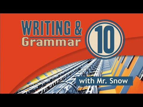 Grade 10 Writing and Grammar