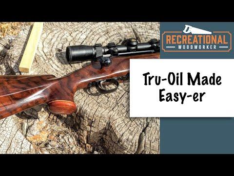 gun stock finishing instructions
