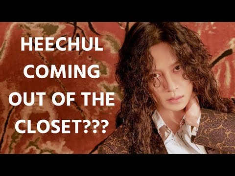 Is Heechul coming out of the closet??? heechul confirming his rumours 😩😩