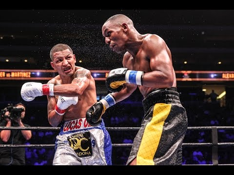 Alexander vs. Martinez: FULL FIGHT - PBC on ESPN - Oct. 14, 2015