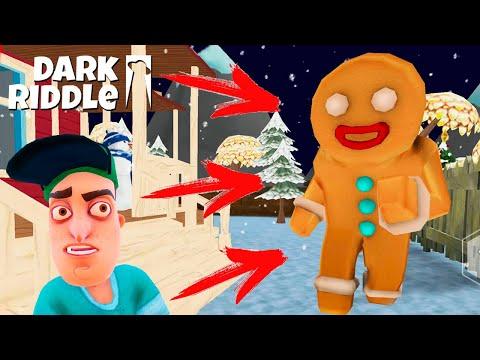 Сосед СТАЛ ПРЯНИКОМ и ОХОТИТСЯ ЗА МНОЙ! Настоящее БЕЗУМИЕ в Игре Dark Riddle от Cool GAMES