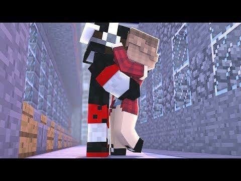 Minecraft - ROMANCE DE VAMPIROS #22 - UMA HUMANA ME BEIJOU?!