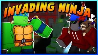 vuclip BECOMING A **NINJA TURTLE** IN SUPER POWER TRAINING SIMULATOR! (ROBLOX)