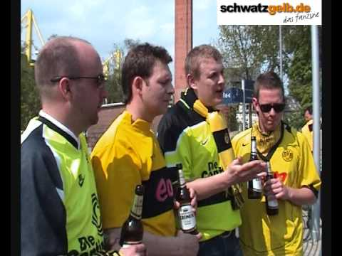 "BVB-Fans From UK: ""Schalke They cry, they cry, they cry!"" Football""s coming home Part 2"