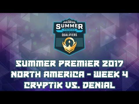 Paladins Summer Premiere 2017 Week 4 NA: Team Cryptik vs. Denial Esports