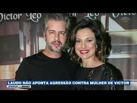 Laudo não aponta agressão em mulher do cantor Victor