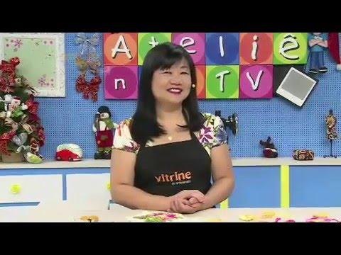 Ateliê na TV- Rede Século 21- 22.12.14- Cristina Luriko e Marcia Caires
