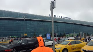 Moscow Sheremetyevo to Domodedovo Airport Journey by Road || Last Moscow Journey of Air India