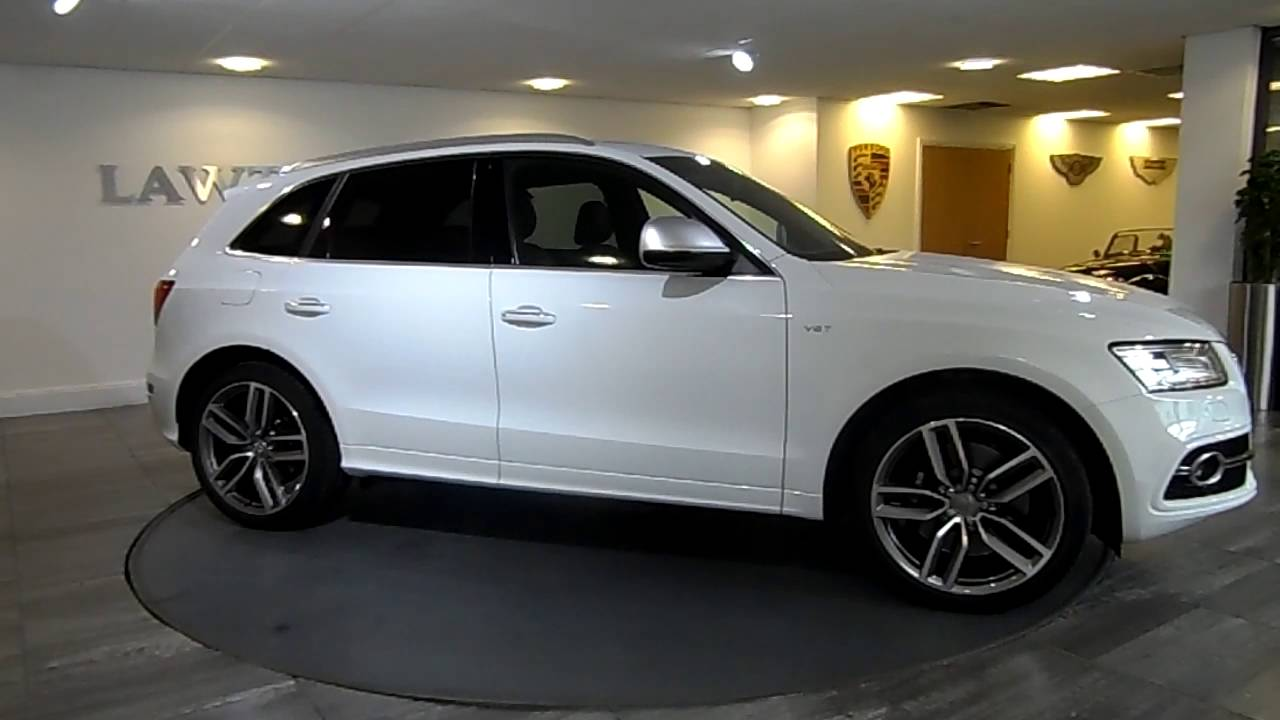 Audi SQ5 Ibis White & Black Lawton Brook - YouTube