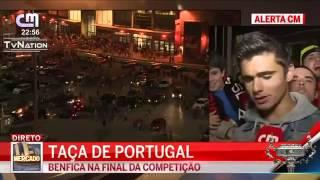 Adepto benfiquista insulta Futebol Clube do Porto