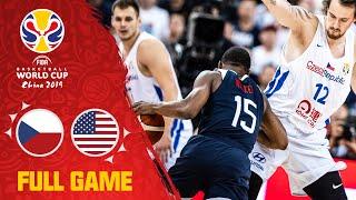 Czech Republic was no match for Team USA! - Full Game - FIBA Basketball World Cup 2019