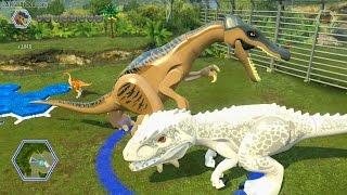 LEGO Jurassic World game 🎮 ALL dinosaurs demoed! thumbnail