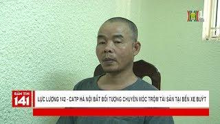 Lực lượng 142 bắt đối tượng chuyên móc đồ tại bến xe buýt 80 Trần Quảng Khải   Nhật ký 141