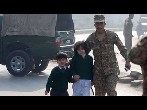Pakistan school attack: Taliban militants kill scores of children