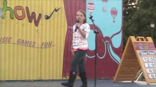 "10 Year Old Girl Singing ""The Climb"" By Miley Cyrus (Hannah Montana)"