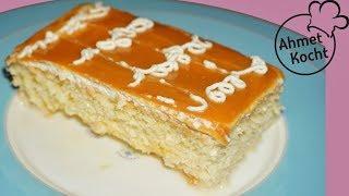 Karamell Kuchen | caramel cake | Ahmet Kocht | backen | Folge 262