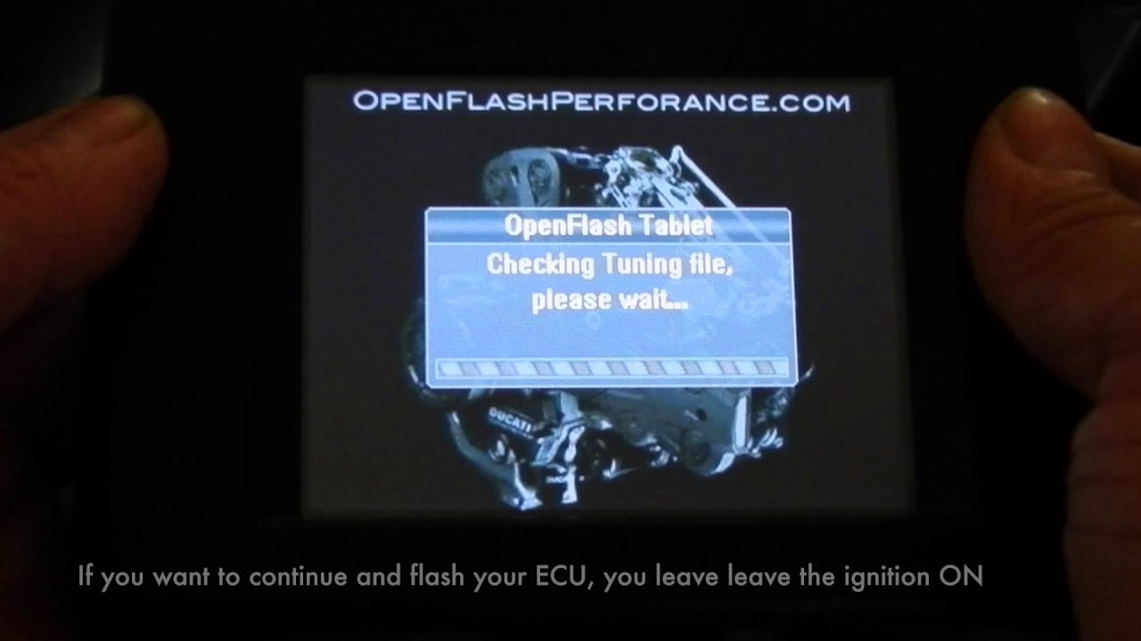 OpenFlash Tablet for Ducati Diavel - Openflash Performance Inc