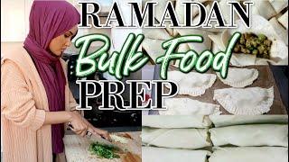 5 RAMADAN FREEZER FOOD RECIPES WITH MY HUSBAND& ME! | Samosas, Spring Rolls, Pies& Much MORE!