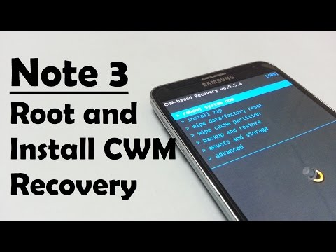 How to root Galaxy Note 3 and install CWM / TWRP / PHILZ recovery
