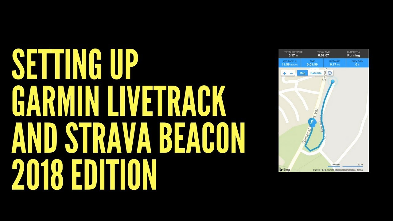 SETTING UP GARMIN LIVETRACK AND STRAVA BEACON