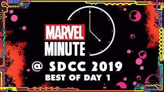Marvel Minute @ SDCC 2019 | Day 1!