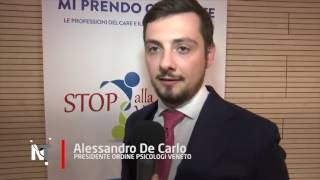 Alessandro De Carlo sul convegno Stop alla Violenza a Padova