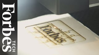 Gambar cover Glowforge: The 3D Laser Printer That Broke Crowdfunding Records | Forbes Tech