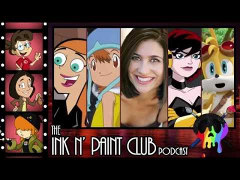 The Ink N' Paint Club Podcast  Episode 37  Chatting It Up with Colleen O'Shaughnessey
