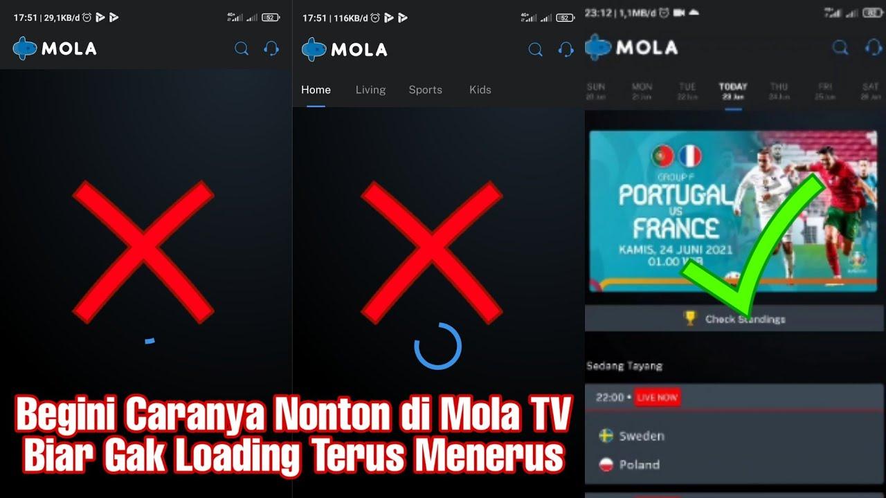 Cara Mengatasi Nonton di Mola TV Loading Terus Menerus - YouTube