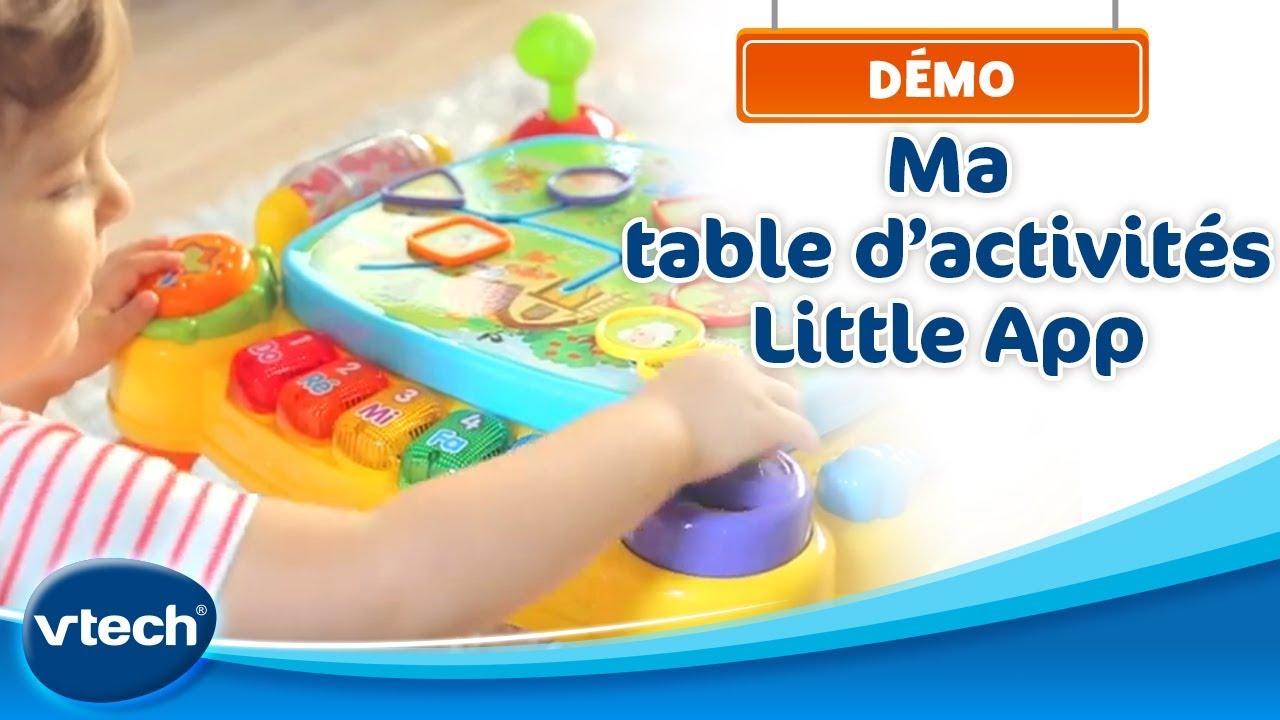 ma table d 39 activit s little app une table interactive. Black Bedroom Furniture Sets. Home Design Ideas