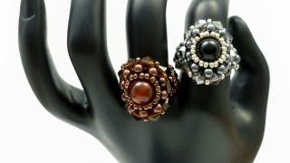 TheHeartBeading: Flower Ring (no sound)