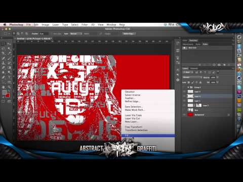 Typography Face / Art Photoshop Tutorial - AquehDzn