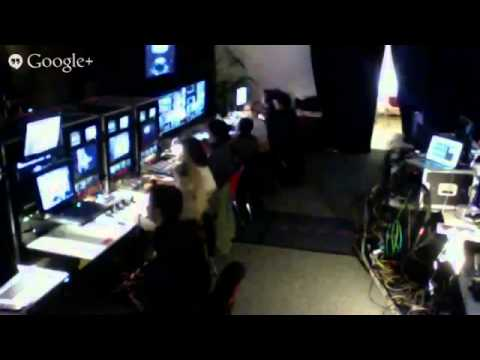 Hillsong Conference 2013 - Live Backstage Control Room