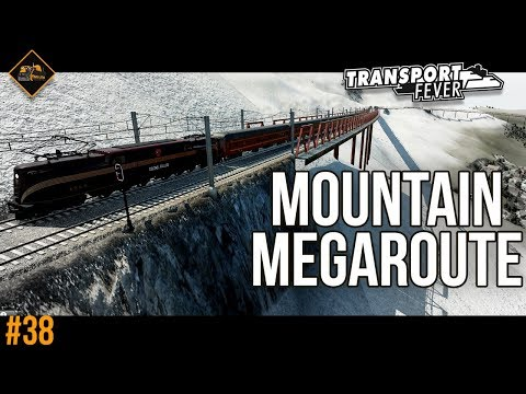 Mountain Pass Megaroute | Transport Fever The Alps #38