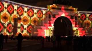 2015-01-05 / Санкт-Петербург, Дворцовая Площадь, Световое Шоу