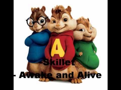 Skillet - Awake And Alive Chipmunks
