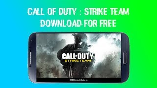 How to download Call of duty : strike team on Android UPDATED LINK | COD Strike Team | GameLeast